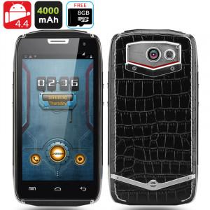 Doogee Titans 2 DG700 Smartphone robuste / CPU Quad Core 1.3GHz / 8Go de mémoire interne / Écran 4.5 pouces 960x540 IPS OGS / OTG / Smart Bouton* CD3627-20