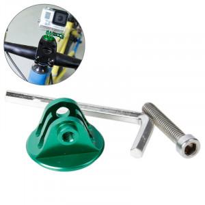 TMC Bike Head Mount avec Screw & Hex Screwdriver pour GoPro Hero 4 / 3+ / 3/2/1 (Vert) ST620G4-20