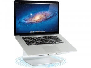 Rain Design mStand 360 Silver Support rotatif pour MacBook et MacBook Pro MBPRDN0006-20