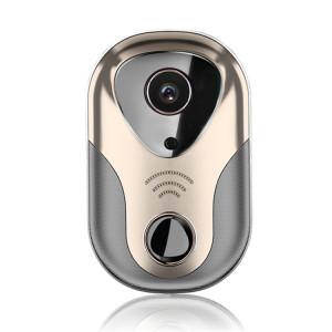 163Eye L1-NJ Smart Visual WIFI 1.3MP Réseau HD Interphone Sonnette, Soutien Micro SD Carte et Vision Nocturne (Or) S1104J1903-20
