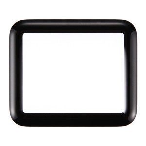 iPartsAcheter pour Apple Watch Série 1 38mm Front Screen Lentille extérieure en verre (Noir) SI124B540-20