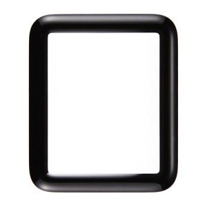 iPartsAcheter pour Apple Watch Série 1 42mm Front Screen Verre Extérieur (Noir) SI126B620-20