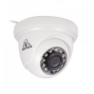 COTIER 531eA-W CE & RoHS certifié étanche capteur CMOS 1/4 pouce 1MP 1280x720P CMOS 3.6mm objectif 3MP caméra AHD avec 12 LED IR, vision nocturne de soutien et balance des blancs SC072A427-20