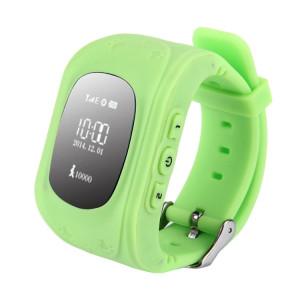 Q50 GPS Tracker Smart Watch pour les enfants, carte SIM de soutien / Anti-perte / SOS Appel / Localisation Finder / Remote Monitor / Podomètre (Vert) SQ065G558-20