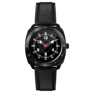 DOMINO DM88 Bluetooth V4.0 Fréquence cardiaque Montre Smart Watch pour iOS / Android Téléphone Mobile, Podomètre / Moniteur de sommeil / Sédentaire Rappel / Anti-perdu / Caméra Télécommande (Noir) SD312B1767-20