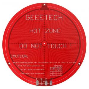 Lit chauffant rond de carte PCB pour la mini imprimante 3D de Delta Rostock SH1728332-20