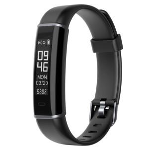 ID130 Fitness Tracker 0.87 pouce OLED écran Smartband Bracelet à puce, IP67 étanche, mode Sports de soutien / moniteur de sommeil / caméra à distance / rappel d'informations (noir) SH118B1319-20