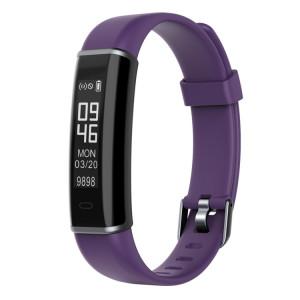 ID130 Fitness Tracker 0.87 pouces OLED Smartband Smart Bracelet écran, IP67 étanche, soutien Sports Mode / moniteur de sommeil / caméra à distance / rappel d'information (violet) SH118P941-20
