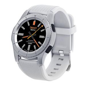 NO.1 G8 HD Full Round 1.3 pouces écran tactile Bluetooth Smart Watch, Support carte SIM et podomètre / Moniteur de fréquence cardiaque / Blood Press Monitor / Notification rappeler / Faire des appels / Chronomètre / SN510W660-20