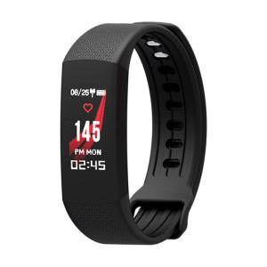 TLW B6 Fitness Tracker 0.96 pouces TFT Bracelet Bracelet Smart Bracelet, IP67 Étanche, Mode Sport Support / Moniteur de Fréquence Cardiaque Continue / Moniteur de Sommeil / Rappel d'Information (Noir) SH687B1525-20