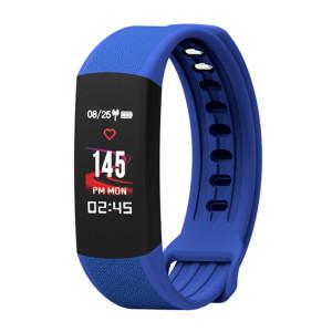 TLW B6 Fitness Tracker 0.96 pouces TFT Bracelet Bracelet Smart Bracelet, IP67 Étanche, Mode Sport Support / Moniteur de Fréquence Cardiaque Continue / Moniteur de Sommeil / Rappel d'Information (Bleu) SH687L360-20
