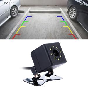 308 LED 0.3MP Parking de secours de sécurité IP68 caméra de vue arrière étanche, capteur PC7070, vision nocturne de soutien, angle de vision large: 170 degrés (noir) SH880B215-20