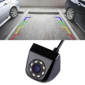 6018 LED 0.3MP Parking de secours de sécurité IP68 étanche caméra de vue arrière, capteur PC7070, vision nocturne de soutien, angle de vision large: 170 degrés (noir) SH882B1346-20