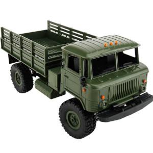 WPL B-24 Assemblée BRICOLAGE 1:16 Mini 4WD RC Camion Militaire De Voiture De Commande Jouet (Vert) SW115G1707-20