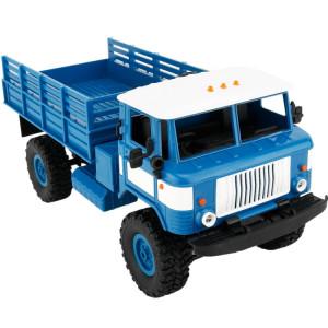 WPL B-24 DIY Assemblée 1:16 Mini 4WD RC Camion Militaire De Voiture De Commande Jouet (Bleu) SW115L1120-20
