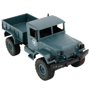 WPL B-1 DIY Assemblée 1:16 Mini 4WD RC Camion Militaire De Voiture De Commande Jouet (Bleu) SW116L446-20