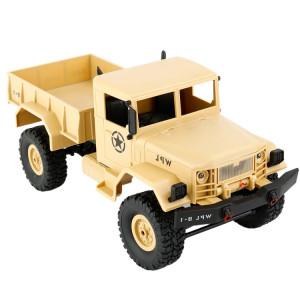 WPL B-1 DIY Assemblée 1:16 Mini 4WD RC Camion Militaire De Voiture De Commande Jouet (Jaune) SW116Y1694-20