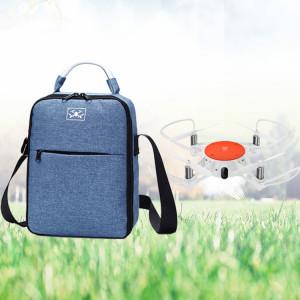 Sacoche à bandoulière avec doublure en éponge pour drone Xiaomi Mitu et accessoires (bleu) SH148L131-20