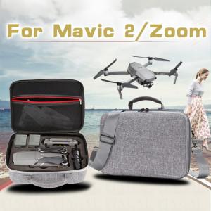 Etui portable antichoc étanche pour DJI Mavic 2 Pro / Zoom et accessoires, Taille: 29cm x 19.5cm x 12.5cm (Gris) SH154H701-20