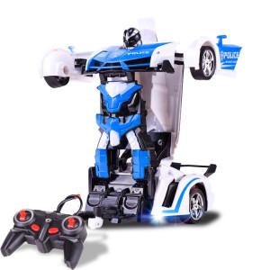 1023 4 canaux déformés à distance voiture modèle voiture de jouet voiture de police SH0160898-20
