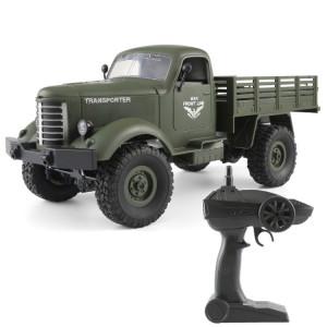 JJR / C Q61 Transporter-2 Full Body 1:16 Mini 2.4 GHz RC 4WD Sur Chenilles Véhicule Militaire Voiture Jouet (Armée Vert) SJ20AG1825-20