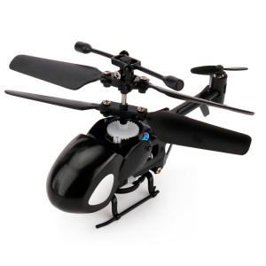QINSONG QS5012 2CH Infrarouge Mini RC Hélicoptère, Taille: 9cm x 5cm x 2cm (Noir) SQ335B1815-20