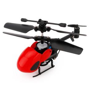 QINSONG QS5012 2CH Infrarouge Mini RC Hélicoptère, Taille: 9cm x 5cm x 2cm (Rouge) SQ335R1397-20
