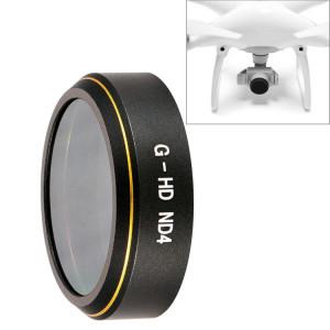 Filtre Objectif HD Drone Gris ND4 pour DJI Phantom 4 Pro SH223B355-20