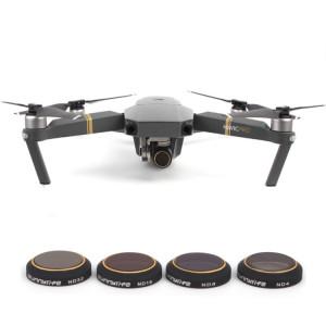 4 en 1 HD Drone Caméra ND32 / 16/8/4 Set de filtres pour DJI Mavic Pro SH3302357-20