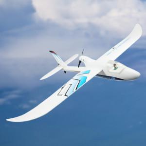 Dynam DY8925SRTF Hawksky V2 1370mm avion planeur débutant Avion modèle réduit avec télécommande, récepteur 2.4GHz inclus avec Gyro 6 axes, version SRTF SD7705433-20