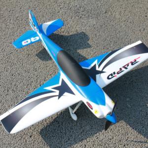 Dynam DY8965SRTF Rapide 635mm Wingspan Race Avion Modèle avec Télécommande, Inclure Récepteur 2.4GHz avec Gyro 6 Axes, Version SRTF SD7708301-20