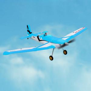 Dynam DY8967PNP Cessna 188 Crop Duster 1500mm Envergure RC Trainer Avion Modèle Avion, Version PNP (Bleu) SD710L889-20