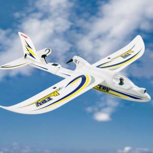 Dynam DY8978BNP Hawksky FPV V2 1370mm Planeur Avion Avion Modèle 5.8GHz ISM FPV Avion, 2.4GHz Récepteur avec Gyro 6 Axes, Puissance de sortie 200mW, Version BNP SD77171365-20