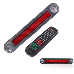 Panneau de signalisation programmable d'affichage de message de vitrine de la voiture LED de CC 12V faisant défiler l'affichage avec la télécommande SH0561172-20