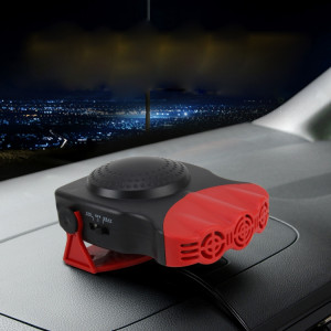 DC 12V 150W froid et chaud double usage chauffe-ventilateur électronique chauffe-voiture pare-brise dégivreur voiture chauffage électrique chauffage pare-brise dégivreur antibuée (rouge) SD803R1272-20