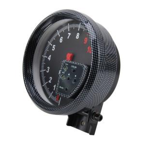 12 V 10 Couleurs 5 pouce 120mm Performance Instrumentation Universal Auto Mètre Jauge Tachymètre RPM Jauge Mètre Tachymètre Salut-performance Auto Jauge Racing Mètre S134551301-20