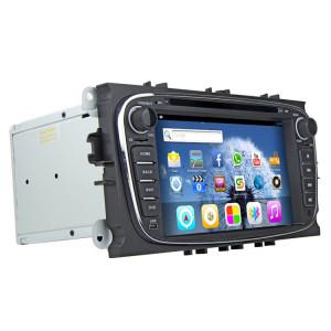 RUNGRACE 7,0 pouces Écran TFT Android 6.0 Lecteur DVD de voiture pour Ford Mondeo, AllWinner R16 CorteX A7 Quad Core 1,6 GHz, 1 Go de RAM + 16 Go ROM, WiFi / Bluetooth / GPS / FM / Lien miroir, Téléphones Android et iOS SR3457845-20