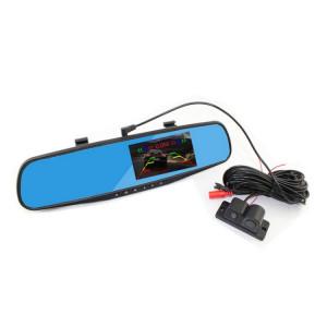 PZ452 4.3 pouces rétroviseur LCD voiture enregistreur de voiture avec caméra de stationnement, 600TV lignes, 170 degrés de vision angulaire SH38561398-20