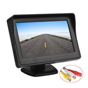 PZ-703 Moniteur de recul pour voiture LCD TFT de 4,3 pouces avec support et protection solaire SH3858993-20