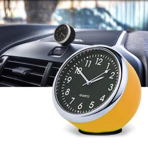 Montre à quartz de voiture lumineuse (jaune) SH922Y1857-20