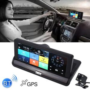 7 pouce Voiture DVR Rétroviseur Double Caméra WiFi GPS Conduite Enregistreur Vidéo Bluetooth Mains-libres Voiture Dash Cam SH4068604-20