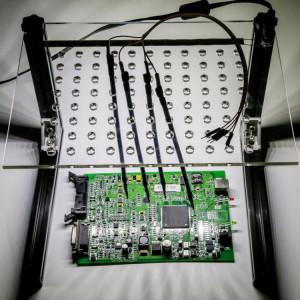 LED BDM Cadre LED cadre de support de plaque d'immatriculation BDM ECU avec 4 stylets de sonde ECU Modifié pour KESS, KTAG, FGTECH, BDM100, KTM100, CMD, DIMSPORT SIDA Auto ECU Chip Tuning Outil SL42321352-20