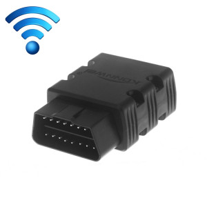 KW902 Mini WiFi OBDII Voiture Auto Outils de Diagnostic Auto Scan WIFI Auto Scan Adaptateur Outil de Scan Support Android et Apple Système (Noir) SK238B391-20