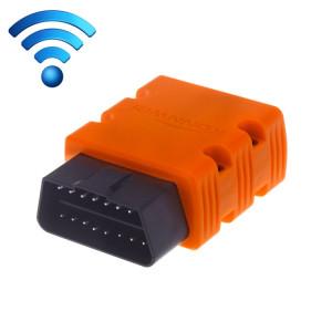 KW902 Mini WiFi OBDII Voiture Auto Outils de Diagnostic Scan WIFI Auto Scan Adaptateur Outil de Scan Support Android et Apple Système (Orange) SK238E108-20