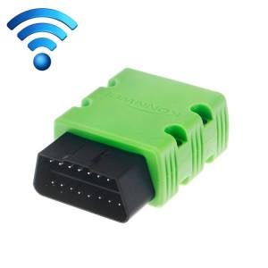 KW902 Mini WiFi OBDII Voiture Auto Diagnostic Scan Outils WIFI Auto Scan Adaptateur Outil de Scan Support Android et Apple Système (Vert) SK238G1597-20