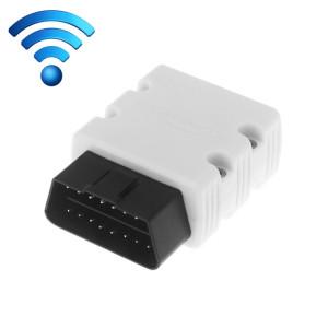 KW902 Mini WiFi OBDII Voiture Auto Diagnostic Scan Outils WIFI Auto Scan Adaptateur Outil de Scan Support Android et Apple Système (Blanc) SK238W1657-20