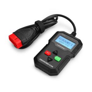 KW590 Mini OBDII voiture Auto diagnostic outils de balayage Auto Scan adaptateur outil de balayage (peut seulement détecter 12V essence voiture) (Noir) SK239B1621-20