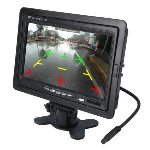 7 pouces TFT LCD moniteur couleur TFT LCD moniteur couleur avec télécommande Disponible pour VCD / DVD / GPS / CAMERA SH429815-20