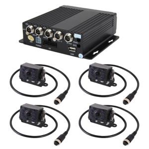 Surveillance en temps réel des camions à 460 ° C Prise en charge de l'entrée AHD AHD et de la caméra en définition standard analogique, en temps réel, 720 pixels de pixels 1280 * 720 pixels SD SH4299616-20