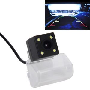 720 × 540 Pixel efficace PAL 50HZ / NTSC 60HZ CMOS II Caméra de recul étanche Vue arrière de voiture avec 4 lampes LED pour la version 2005-2013 Mazda 6 SH44611163-20